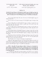 Về việc sửa đổi, bổ sung Thông tư số 06/2009/TT