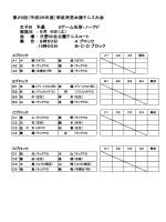 女複B予選 - 栄区テニス協会