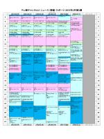 テレ朝チャンネル2 ニュース・情報・スポーツ 2015年2月第5週
