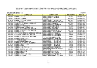 1 建築物清掃業(PDF:32KB)