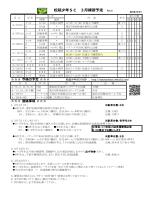 3月予定表(配布と同じ) - 松延少年SC
