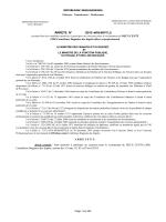 [Arreté num] Suivant l`arrêté du 04 Mars 2015, la liste des candidats