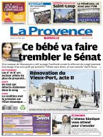 La Provence Marseille du mardi 21 octobre 2014