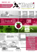 The Magpi Magazine Back Cover