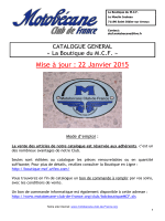 Catalogue PDF - Motobécane Club de France