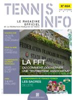 N°464 - Fédération Française de Tennis
