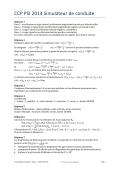 CCP PSI 2014 Simulateur de conduite - CPGE PSI