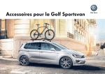 Accessoires pour la Golf Sportsvan