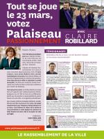 CLAIRE ROBILLARD - Palaiseau passionnement