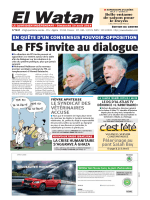 Le FFS invite au dialogue