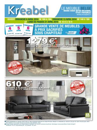 2 - Kreabel meubles belges