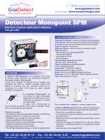 detecteur monopoint spm w1