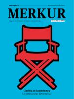 Merkur 01/2015 - Chambre de Commerce