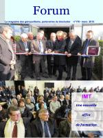 Forum 178 Mars 2015