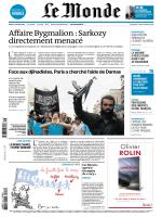 Le Monde du mardi 07 octobre 2014