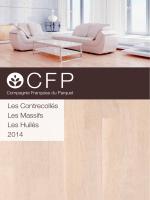 Catalogue format PDF - Compagnie Française du Parquet