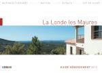 le guide hebergement 2015 - office de tourisme de La Londe Les
