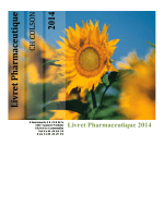 Livret pharmaceutique - La pharmacie fait partie du pôle inte