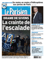 Le Parisien + journal de Paris du mercredi 29 octobre 2014