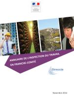 Outil recherche inspection - Franche-Comté
