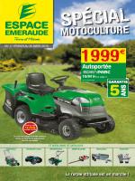 motoculture - Espace Emeraude