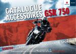 GSR750, le road de s - Suzuki Accessoires