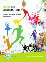 Téléchargez le guide des associations 2014 - Saint-Jean-de