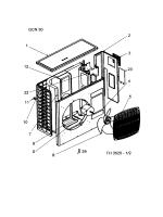 Marque :Airwell Modèle : GCN 30 RC / R407C