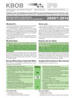 Empfehlung Ökobilanzdaten im Baubereich - Eco-Bau