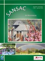 Télécharger le bulletin - Commune de Sansac de Marmiesse