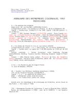 Annuaire des entreprises coloniales 1951