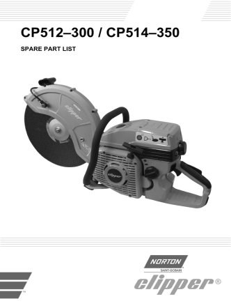 CP512–300 / CP514–350 - Norton Construction Products