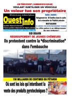 Mardi 30 Décembre 2014 - Ouest-info