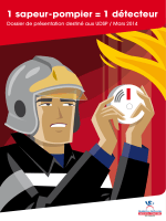 1 sapeur-pompier = 1 détecteur - Union départementale des