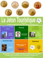 Le Jeton Touristique N°68 - Jetons touristiques de la Monnaie de Paris