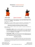 Dépoussiéreurs - Concept InnovaTech Inc. Model CI 4500 (Santé et