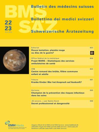 Bulletin des médecins suisses 22