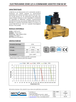 electrovanne ceme 2/2 a commande assistee esm 86 nf