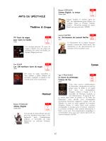 Les nouveautés Loisirs (pdf)