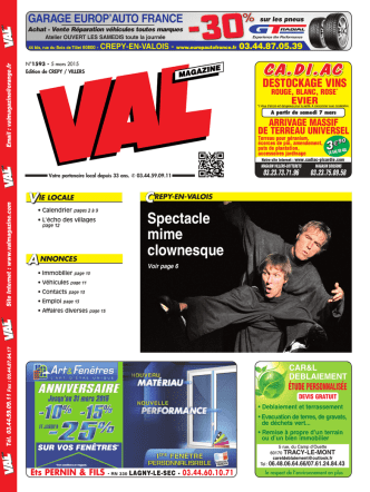 Annonce - VALMagazine.com