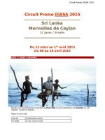Sri Lanka Merveilles de Ceylan