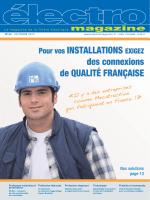 N° 63 - Octobre 2013 - Électro magazine filière électrique