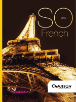Catalogue 2015 - Chausson motorhomes