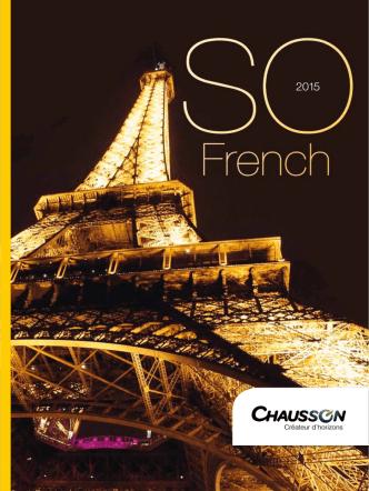 Catalogue 2015 - Chausson motorhomes