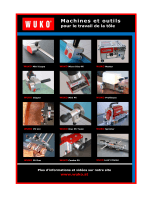 Machines et outils - WUKO Maschinenbau GmbH