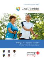 Entdecken Sie hier das Winterprogramm des Club Senior