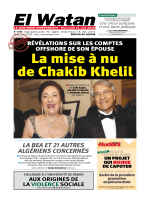 La mise à nu de Chakib Khelil