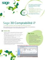 Sage 30 Comptabilité i7 - SETG | Services et Gestion