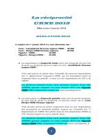 La réciprocité URNE 2015 - Fédération du Bas