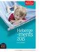 Office de Tourisme / Guide des hébergements 2015